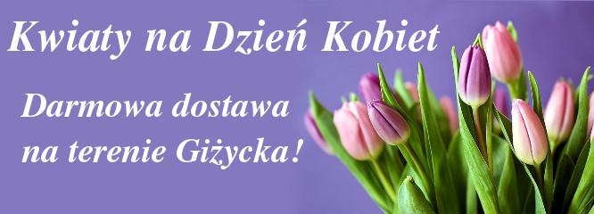 Darmowa dostawa kwiatów na Dzień Kobiet