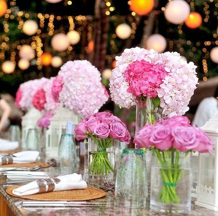 Dekoracja sal weselnych