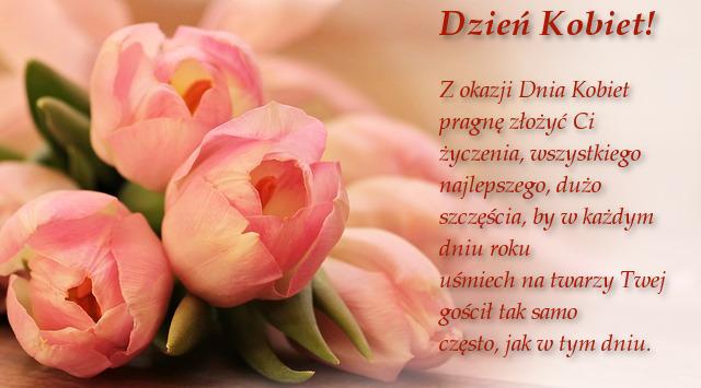 sms na dzień kobiet Olsztyn